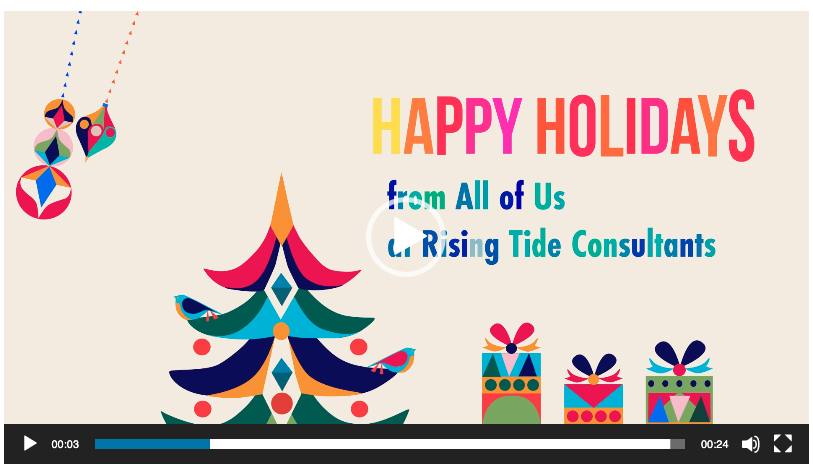 Season's Greetings from Rising Tide Consultants